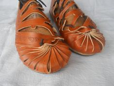 Leather Shoes lateral by LughAislingCelticArt on Etsy