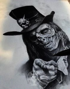 Uncle Sam Zombie by –> AndreySkull