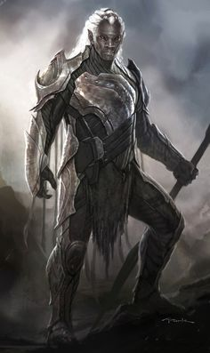 Check some of the latests concept art made by Andy Park for Marvel's Thor the Dark World Fantasy Races, Fantasy Warrior, Fantasy Rpg, Dark Fantasy, Skyrim, Twilight Princess, Paladin, Films Marvel, Warrior Angel