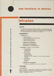 Design is fine. History is mine. — Herbert Bayer, Bauhaus Corporate Identity, 1925