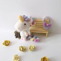 Miniature Unicorn Crochet Unicorn Toy Amigurumi Unicorn Blythe Doll Toy Easter Plush Stuffed Animal Kawaii Fuzzy Unicorn Girls Gift Ideas by AmiAmiGocco on Etsy