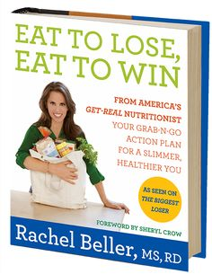 Rachel's book is finally out! Get your copy today! http://www.amazon.com/Eat-Lose-Win-Grab-n-Go-Healthier/dp/0062231812/ref=sr_1_5?ie=UTF8=1356982411=8-5=eat+to+win