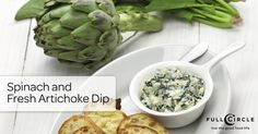 This creamy spinach and fresh artichoke dip recipe will definitely be the hit of your next summer evening get-together.