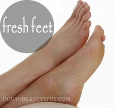Get rid of stinky/ smelly feet and keep them fresh all day long