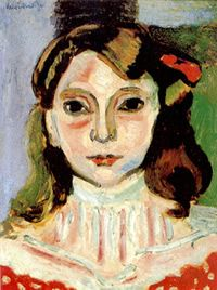 The Models of Matisse-                      the painter's teenage daughter Marguerite Matisse (b.1894)  -1906-07 and frequent model