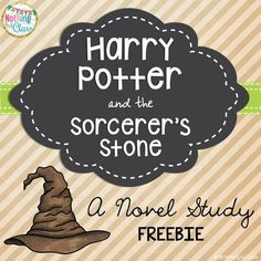 Harry Potter and the Sorcerer's Stone Novel Study FREEBIE