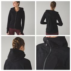 LULULEMON PLEAT TO STREET HOODIE Sz 12. Black. NWT LULULEMON PLEAT TO STREET HOODIE Sz 12 lululemon athletica Tops Sweatshirts & Hoodies