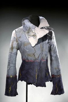 This jacket from Godbout gets the creative juices going - wonderful treatment of colour and pattern