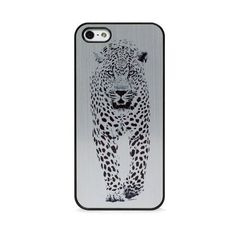 BlissfulCASE WILD CHEETAH BLACK ON GOLD FOR IPHONE 5/5S ($30) ❤ liked on Polyvore featuring accessories, tech accessories, phone cases, phones, phone covers and multi