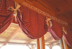 SUPER easy, NO-sew, DIY Curtains   by The Resourceful Gals