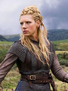 Vikings (TV show)  Katheryn Winnick as Lagertha -- Love the mail