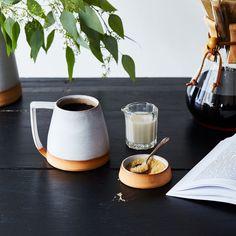 Handthrown Dipped Ceramic Mug