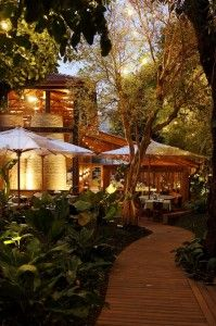 Restaurants with gardens in Sao Paulo #Brazil #SP #restaurants