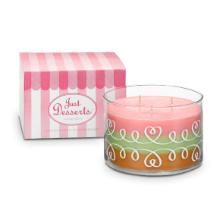 Just Desserts™ by PartyLite Layered 3-Wick Jar Candle
