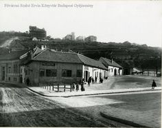 History Photos, Budapest Hungary, Tao, Old Photos, Louvre, Street View, Mansions, House Styles, Building