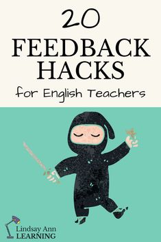 20 different feedback strategies for English Teachers to work smarter, not harder, providing meaningful feedback to student writers easily and efficiently while promoting student ownership of the writing and revision process. | Lindsay Ann Learning English Teacher Blog