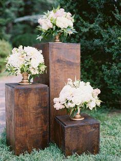 Soft Pink and Ivory Virginia Wedding - MODwedding