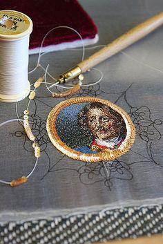 Irena Gasha embroideries