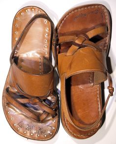 Making Your Own LOTRs - leather sandals