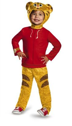Disguise Daniel Tiger's Neighborhood Daniel Tiger Classic Toddler Costume, Medium/3T-4T *** More info could be found at the image url.