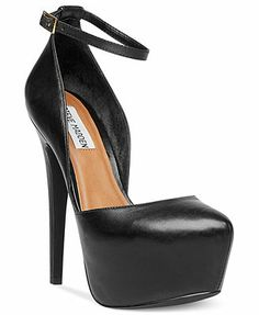 Steve Madden Women's Shoes, Deeny Platform Pumps