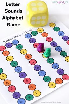 Alphabet game that teaches kids to identify letters and letter sounds. A super fun alphabet activity! Alphabet game that teaches kids to identify letters and letter sounds. A super fun alphabet activity! Letter Games, Letter Activities, Literacy Activities, Teaching Resources, Letter Identification Activities, Letter Recognition Games, Word Games, Preschool Letters, Kindergarten Literacy