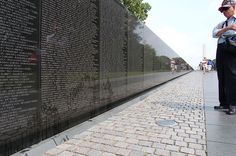 Vietnam Veterans Memorial - a very haunting memorial and well worth visiting when you are in Washington, DC