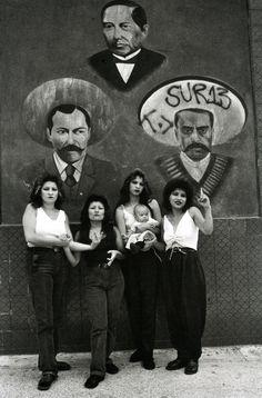 Graciela Iturbide Cholas I (con Zapata y Villa), White Fence, East L.