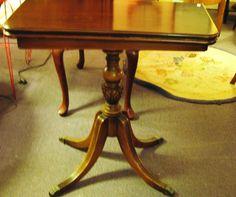 Duncan Phyfe Mahogany game table