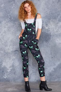Take Me To Your Dealer Overalls - LIMITED ($120AUD) by BlackMilk Clothing