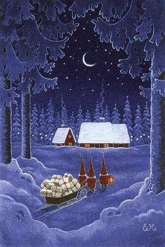 by Eva Melhuish #vintage #christmas #vintagechristmas