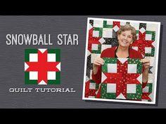 Snowball Star Quilt