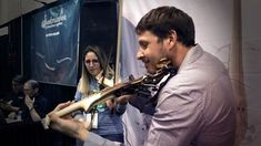 Jam session with and recorded at the Daniela was playing her Equinox and Laurent the Line. Namm Show, Electric Violin, Equinox, Instagram, Violin