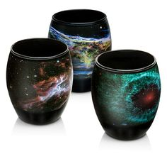 This Nebula Glasses Set lets you start your day gazing on the wonder of space as captured by NASA& telescopes. These glasses are decorated with four nebulae: the Veil, the Butterfly, the Helix, and the Seahorse. Hubble Space Telescope, Space And Astronomy, Kitchen Sale, Drinking Glass, Recipe Of The Day, Geek Stuff, Kid Stuff, Tableware, Etsy