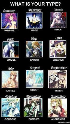 anime zodiac. i am a goddess ^^