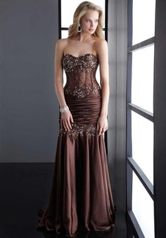 Jasz Couture 4515 at Prom Dress Shop  *-* If this was maroon/burgundy, pale blue, or forest green... OMG.