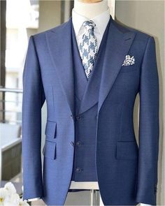 Com - Clothing Type: Men's Suits, Groom Suits, Wedding Suit Closure Type: Single Breasted Fit Type: Skinny Material: Wool, Cotton Pant Closure Type: Zipper Fly Front Style: Flat Gender: Men Three Piece Suit, 3 Piece Suits, Tuxedo Wedding, Wedding Suits, Wedding Groom, Wedding Coat, Dress Suits, Men Dress, Men's Suits