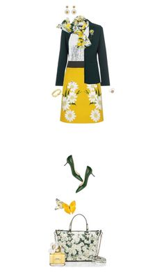 """""""No prizes for guessing her favourite flower"""" by fsommerv on Polyvore featuring Kate Spade, Paul Smith, 3.1 Phillip Lim, Dolce&Gabbana, Casadei, Weiss, Alison Lou and Marc Jacobs"""