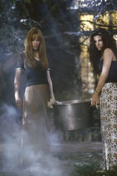 Gillian and Sally Practical Magic Practical Magic Quotes, Practical Magic Movie, Magic House, Season Of The Witch, Fandoms, Witch Aesthetic, Punk, Sandra Bullock, Nicole Kidman