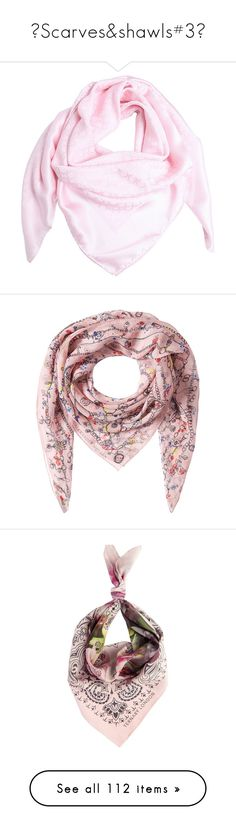 """""""♥Scarves&shawls#3♥"""" by lessalice ❤ liked on Polyvore featuring accessories, scarves, pink, salvatore ferragamo, silk scarves, silk shawl, pink shawl, pink silk scarves, green shawl and print scarves"""