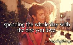 I love this!!!!  These days are the best days of my life!