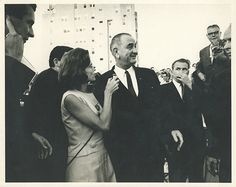Nancy Dickerson's reporting on Lyndon Johnson: Inside LBJ's house the night after JFK died.