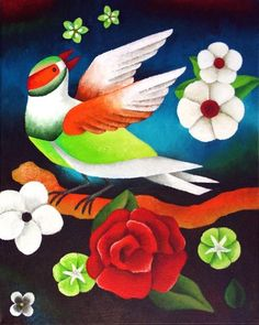 Green Bird ~ Yvonne Zomerdijk
