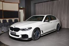 BMW M550i xDrive with Full M Performance Kit Delivered in Abu Dhabi