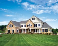 Elevation / Exterior Design is the design of the outside of this Hampton Manor home.