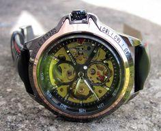 Herrklocka Winner - Luxury (svart) #winner #skeleton #armbandsur #klocka #klockor #herrklocka #herrklockor #runns #watch #watches