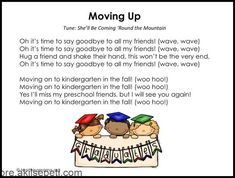 Preschool Graduation Songs - Free Printables & More Ideas - Pre-school Bethany Ford Kindergarten Graduation Poems, Pre School Graduation Ideas, Graduation Crafts, Kindergarten Songs, Graduation Theme, Graduation Celebration, Pre K Graduation Songs, Graduation Parties, Graduation Decorations