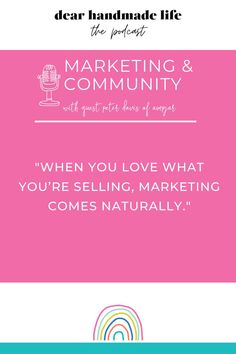 📝What are you supposed to say in your marketing emails? ⏰How often should you send them? 👩🏽🎨How do you determine how much of yourself to share online? ✨How can you utilize the the marketing tool that big brands wish they had? 👩🏾💻What is karmic marketing and how can community over competition help you grow your business? Tune into this episode of our podcast for these answers and more with @ampjar founder Pete Davis. The Marketing, Marketing Tools, Creative Business, Business Tips, Share Online, When You Love, Growing Your Business, Competition