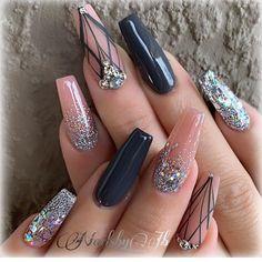 Beautiful nail art design to try this season long coffin nails autumn nails nail colors fall nails nail polisacrylic nail art Pink Nails, Gel Nails, Nail Polish, Lace Nails, Toenails, Fall Nail Designs, Acrylic Nail Designs, Beautiful Nail Art, Gorgeous Nails