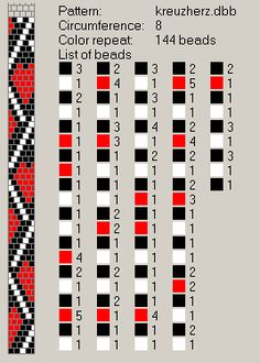 Tutorial: Design Tubular Bead Crochet Jewelry Patterns by Lablun & s . 8 around. Tutorial: Design Tubular Bead Crochet Jewelry Patterns by Lablun & s . Crochet Bracelet Pattern, Crochet Jewelry Patterns, Crochet Beaded Bracelets, Bead Crochet Rope, Bead Loom Patterns, Bracelet Patterns, Beading Patterns, Beaded Crochet, Bead Weaving